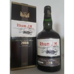 JM Rhum Millésime 2008 Rhum...