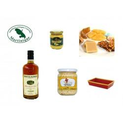 Coffret VSOP Cuvée Castelmore Rhum Agricole Héritiers Madkaud