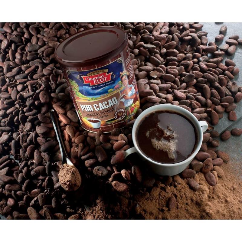 Élot Chocolat En Poudre Pur Cacao-lileoumerveilles.com