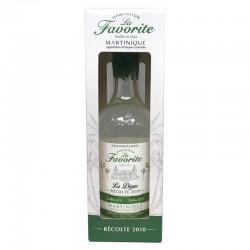 La Favorite - Rhum blanc - La Digue - Millésime 2018 - 70cl - 52°-lileoumerveilles.com