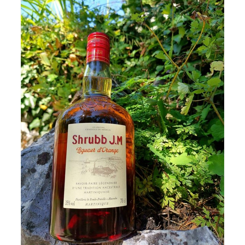 Rhum JM Shrubb Liqueur d'Orange