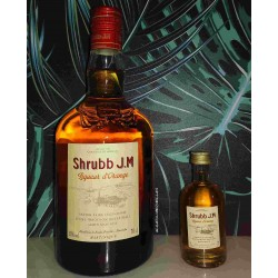 Rhum JM Shrubb Liqueur d'Orange-shrubb rhgum JM