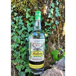 La Favorite Rhum Blanc L'Authentique 50° 1L Rhum Agricole Martinique-lileoumerveilles.com