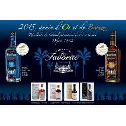 Rhum Blanc Cœur de Canne 55° 1L La Favorite-lileoumerveilles.com