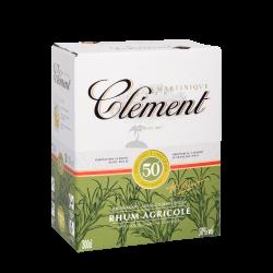 rhum_cl_ment_blanc_50_3l-clément-cubi-3l-50°-rhum-agricole-martinique-rhum clément cubi 3 litres-rum clément