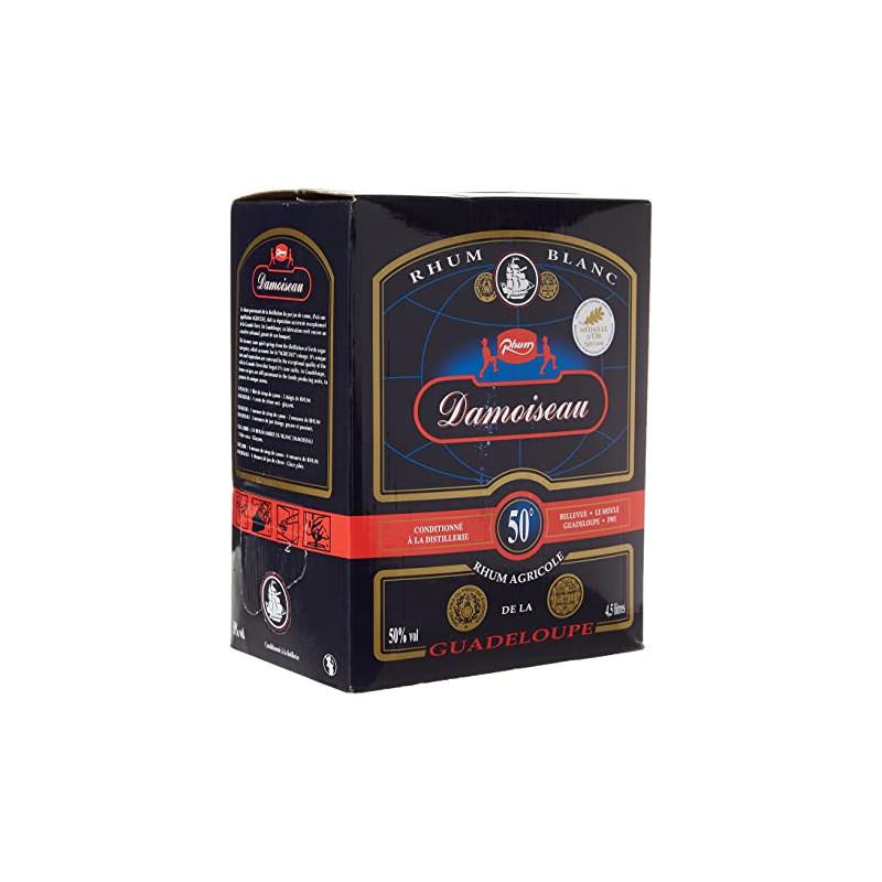 rhum-blanc-cubi-50-45cl-damoiseau-rhum-blanc-50°-rhum agricole damoiseau-lileoumerveilles.com