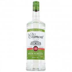 clément- rhum-blanc-1l-50°-rhum-agricole-rhum blanc aoc martinique-rhum clément 1 litre-rum clément