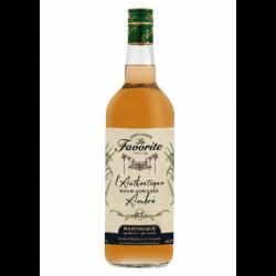 rhum-agricole-la-favorite-lauthentique-ambre- 1L Rhum Agricole Martinique-lileoumerveilles.com
