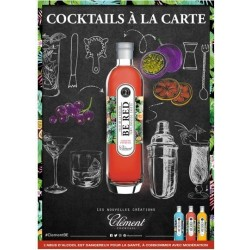 Rhum Clément Be Red Cocktail rhum Clément-lileoumerveilles.com