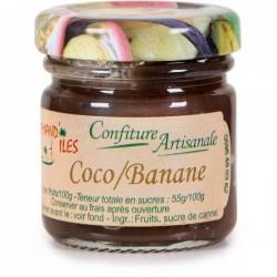 Gourmand'Îles Confiture de Coco Banane-lileoumerveilles.com