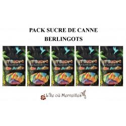 Pack Sucre de Canne 5...