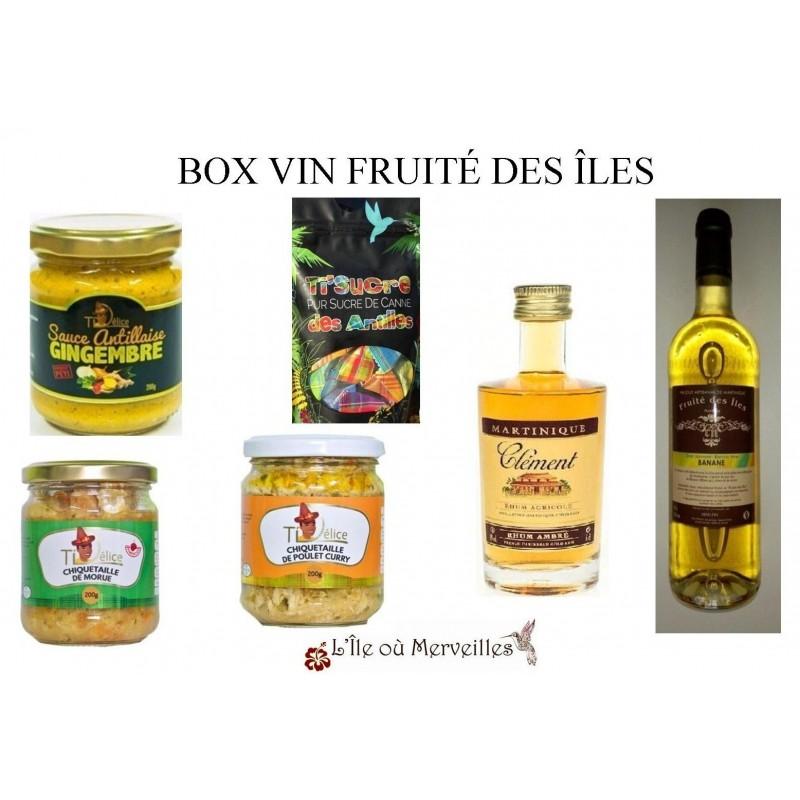 Box Vin Fruité Des Îles-sauces antillaises-chiquetailles-Ti'Délice-chiquetailles Ti'Délice