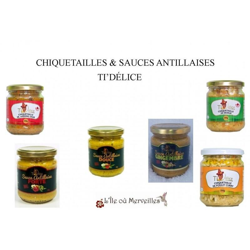 Chiquetailles-Sauces Antillaises-Ti'Délice-lileoumerveilles.com