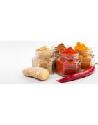 L'Île ou Merveilles et Ti'Délice L'Ambassadeur de saveurs Antillaises vous propose les sauces Antillaises forte, douce, sauces chien, pâte à colombo pour agrémenter tous vos repas.